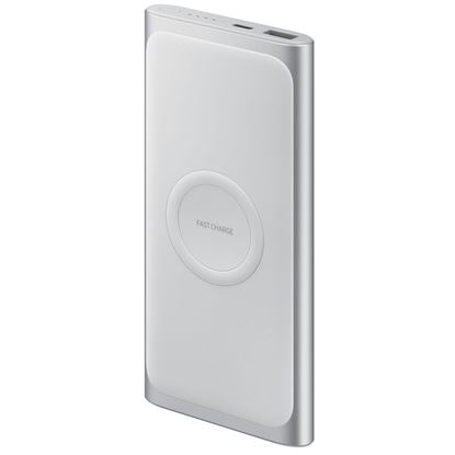 Obrázek Samsung EB-U1200CSEGWW Power Bank 10000 mAh - USB-C - stříbrná