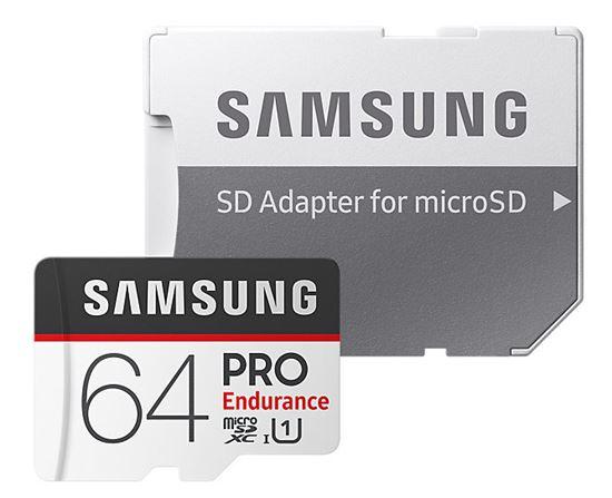 Obrázek z Samsung MB-MJ64GAEU Paměťová karta Micro SDXC PRO endurance 64GB