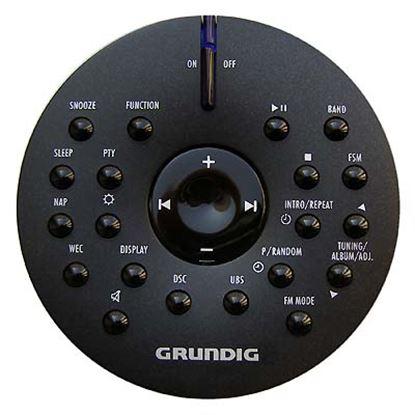 Obrázek Dálkový ovladač HIFI Grundig CDS7000 ČERNÝ