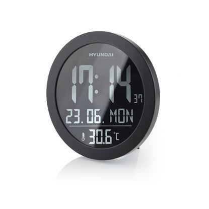 Obrázek Nástěnné hodiny Hyundai WSN 2400, s vnitřní teplotou