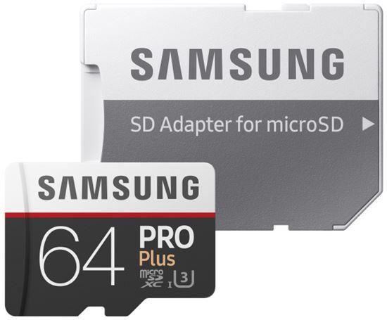 Obrázek z Samsung MB-MD64GAEU Paměťová karta Micro SDXC PRO+ 64GB