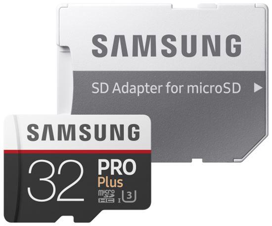 Obrázek z Samsung MB-MD32GAEU Paměťová karta Micro SDXC PRO+ 32GB