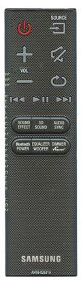 Obrázek Samsung AH59-02631A Dálkový ovládač pro Soundbar NELZE