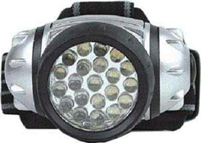 Obrázek Svítilna čelovka 3xAAA 21xLED 3-stupně svitu