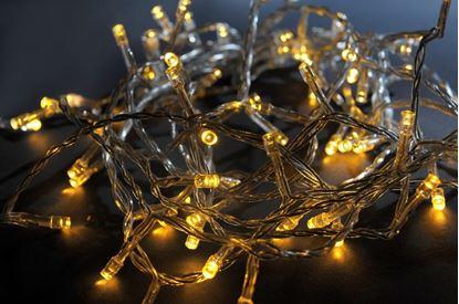 Obrázek Vánoční řetěz LED - 200 LED   teplá bílá barva