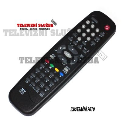 Obrázek Dálkový ovladač TV - MT1027 JVC C1480, C210, C211
