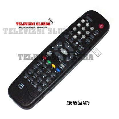 Obrázek Dálkový ovladač TV - MT1137 Akai, Philips = ZIP112