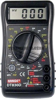 Obrázek Multimetr DT830D Range