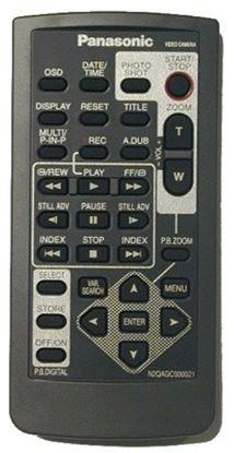 Obrázek Dálkový ovladač KAMERA - Panasonic N2QAGC000021