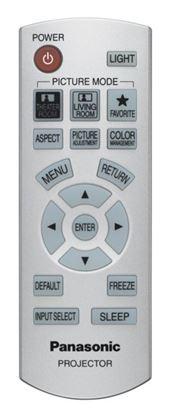 Obrázek Dálkový ovladač PROJ - Panasonic N2QAYB000194