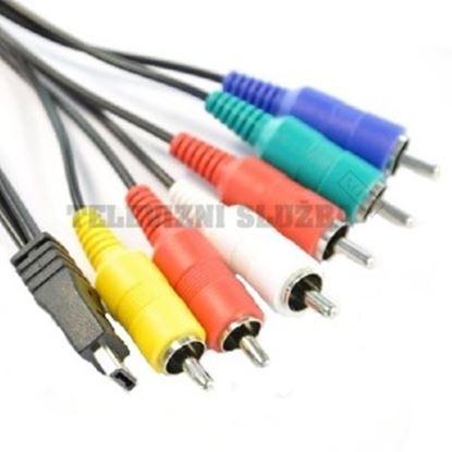 Obrázek AV RCA kabel K1HY12YY0012 pro kamery Panasonic