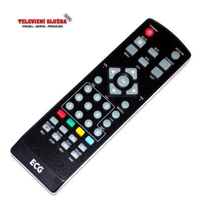 Obrázek Dálkový ovladač DVBT - ECG  DVS2060D