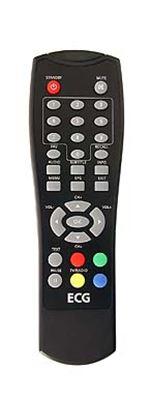 Obrázek Dálkový ovladač DVB-T ECG DVT860 ČERNÝ