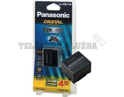 Obrázek Baterie do KAMERY - Panasonic CGA-DU14E/1B