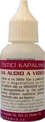 Obrázek Čistící kapalina na audio-video 30ml