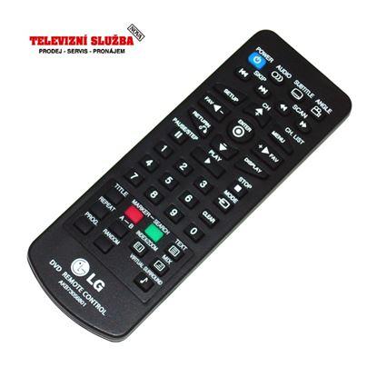 Obrázek Originální dálkový ovladač AKB73056801 pro DVD LG