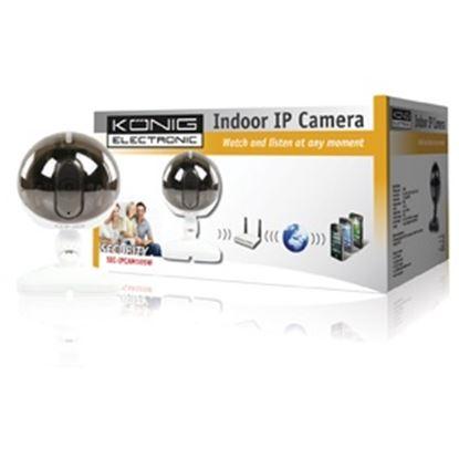Obrázek Plug & Play kamera SEC-IPCAM105W vnitřní, bílá AKCE