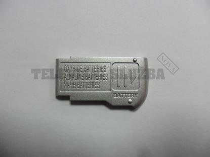 Obrázek Dvířka beterii pro foto Panasonic DMC-LZ2 - stříbr