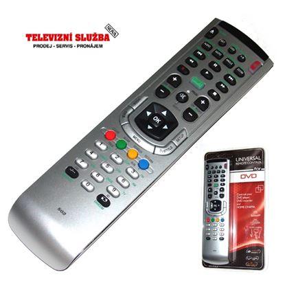 Obrázek Univerzální dálkový ovladač ZIP502 NEW pro DVD, DK