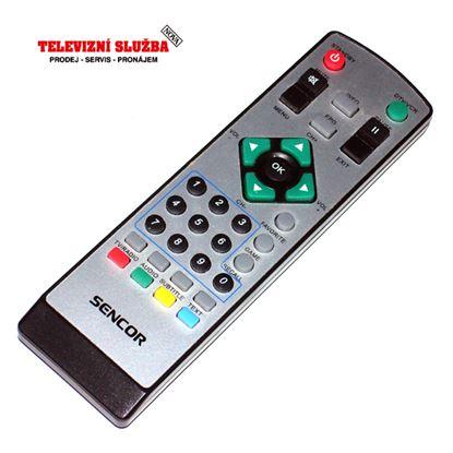 Obrázek Dálkový ovladač DVBT - Sencor SDB1009T  náhrada