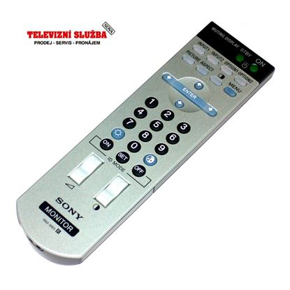 Obrázek Dálkový ovladač monitor - Sony RM980 originál