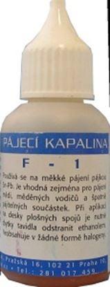 Obrázek Tavidlo  F-1 (30ml) páj. kap.na měkké pájení Sn-Pb