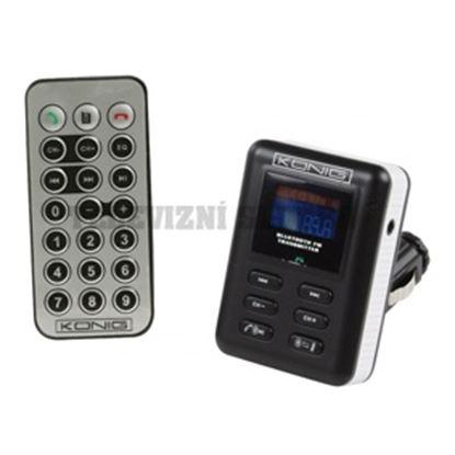 Obrázek FM+BT vysílač MP3, LCD, DO.MP3-FMTRANS50 výprodej