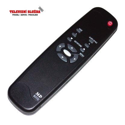Obrázek Dálkový ovladač PROJ - HP VP6120, VP6121, MP3222