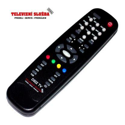 Obrázek Dálkový ovladač SAT - MZ9003  DIGI TV