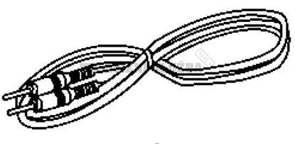 Obrázek IPod kabel K2KC49A00001 pro přenosné DVD Panasonic
