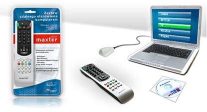 Obrázek Dálkový ovladač PC - MAXTER usb