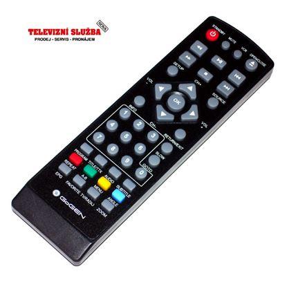 Obrázek Dálkový ovladač DVBT - Gogen DXDB261 = 000213