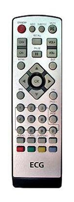 Obrázek Dálkový ovladač DVB-T ECG DVB-T450 OLD S