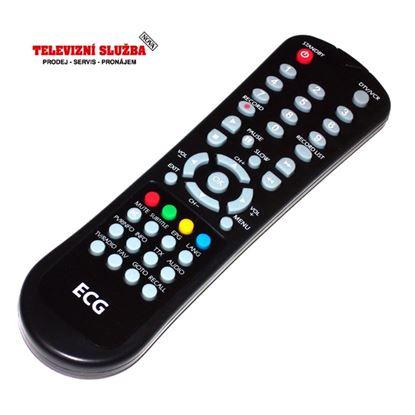 Obrázek Dálkový ovladač DVBT - ECG DVB-T550HDDD