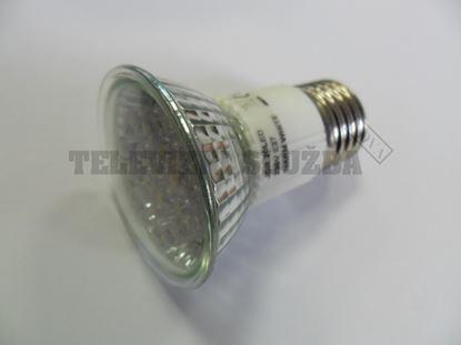 Obrázek LED žárovka E27/2W 20xLED teplá