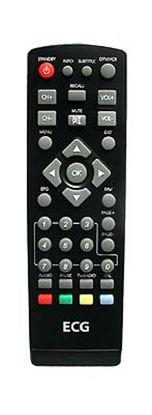 Obrázek Dálkový ovladač DVB-T ECG DVB-T450 NEW C