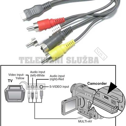 Obrázek Samsung AD39-00099B AV kabel pro kameru