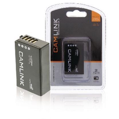 Obrázek Dobíjecí Lithium-Iontová Baterie do Fotoaparátu 7.4 V 1000 mAh