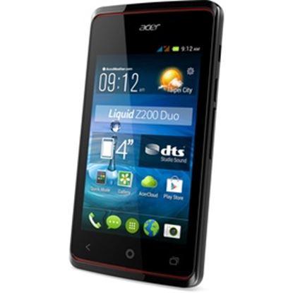 Obrázek Telefon Liquid Z200 Dual SIM DualC. 4 BLACK ACER