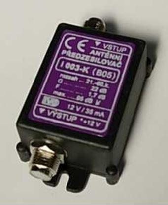 Obrázek Anténní zesilovač I003-X.S UHF 22dB 2xF-kon